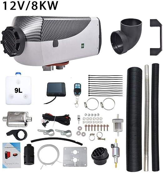 24V Diesel Air Standheizung Goodtimera 8KW 12V Fernbedienung LCD Diesel Air Fuel Heizung F/ür Auto//Pickup//Big Truck Standheizung