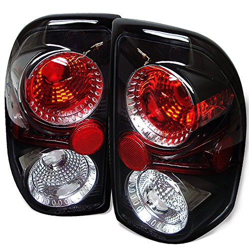 - For 97-04 2nd Gen Dodge Dakota Pickup Truck Black Bezel Tail Lights Brake Lamps Assembly