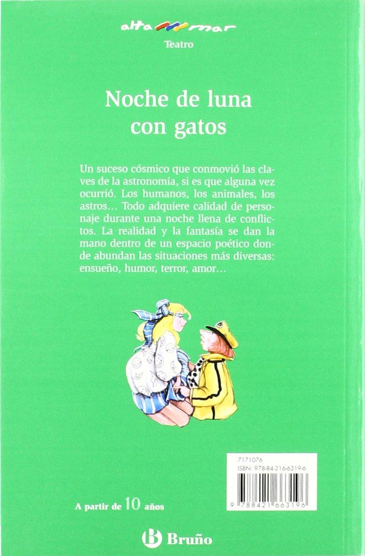 Noche de luna con gatos Castellano - A Partir De 10 Años - Altamar: Amazon.es: Fernando García Tejada, Alicia Cañas Cortázar: Libros