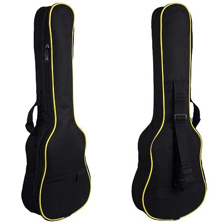 Kanqingqing Bolsa de Guitarra Guitarra Mochila Acolchada Bolsa de ...