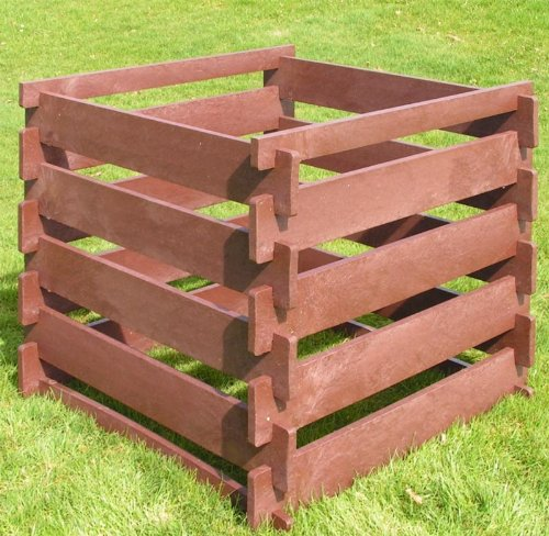 Komposter | Stecksystem aus Recycling | voll Witterungsbeständig aus Recyclingkunststoff Inhalt: 650 Liter
