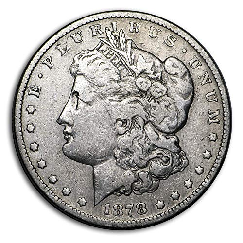 (1878 S Morgan Dollar VG/VF Details (Cleaned) 1 Very Fine)