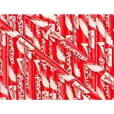 Wonka Pixy Stixs Candy Powder Red 6 Inch 50 Count