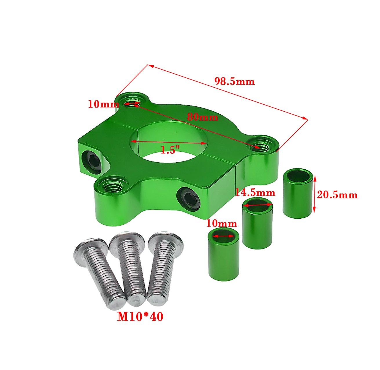 JRL 415/Kettenrad 3,8/cm 36T Rot CNC Adapter Motorisierte Fahrrad 50/cc 60/cc 80/cc