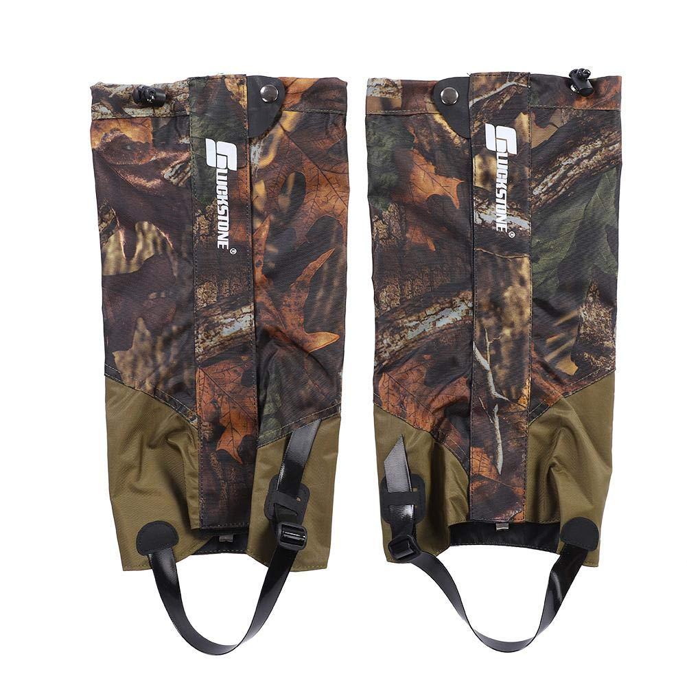 Vbestlife Snow Legging Gaiters,Outdoor Waterproof Hunting Leg Gaiters Leg Cover Wraps Snow Boot Gaiters for Camping Hiking Walking Climbing