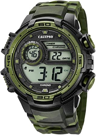 Calypso Reloj Digital para Hombre de Cuarzo con Correa en Plástico K5723/2