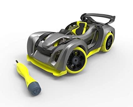 Make Your Own Car >> Modarri T1 Track Build Your Car Kit Toy Set Ultimate Toy Car Make Your Own Car Toy For Thousands Of Designs Real Steering And Suspension