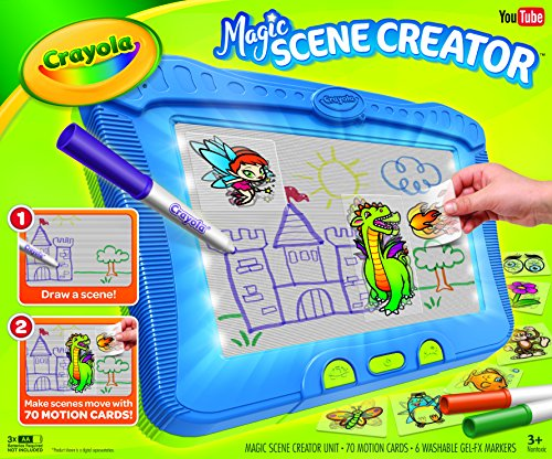 Toys Age 3 5 : Crayola magic scene creator drawing kit for kids