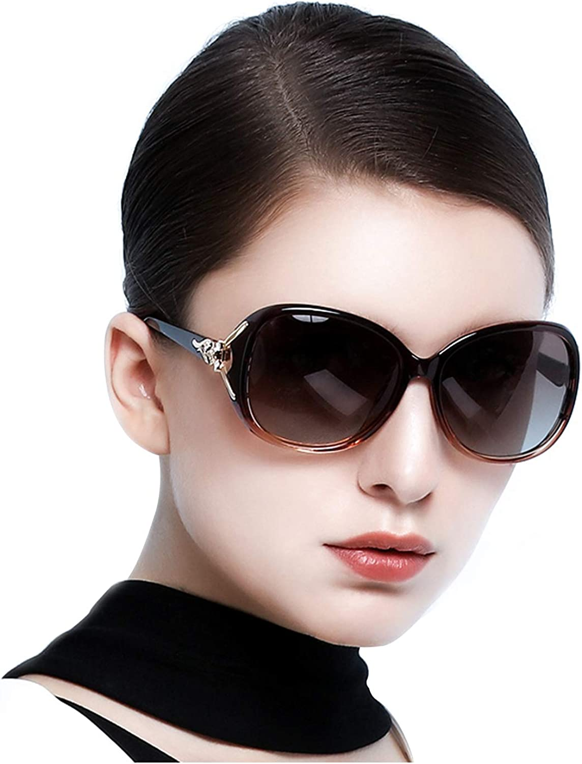 Women Sunglasses Oversized Glasses Designer Sun Glass Fashion Polarized Eyewear