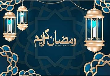 Amazon Com Baocicco 12x8ft Ramadan Kareem Backdrop Islamic Vintage Lanterns Middle East Islamic Decor Style Photography Background Eid Mubarak Holiday Islamic Pray Fiesta Decor Children Adults Portrait Camera Photo