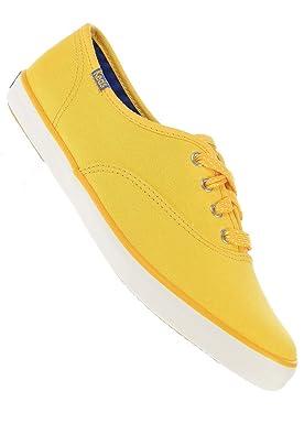 1e03fed7568351 Keds Champion Polka Dot Lace Sneaker Mustard Yello  Amazon.co.uk  Shoes    Bags