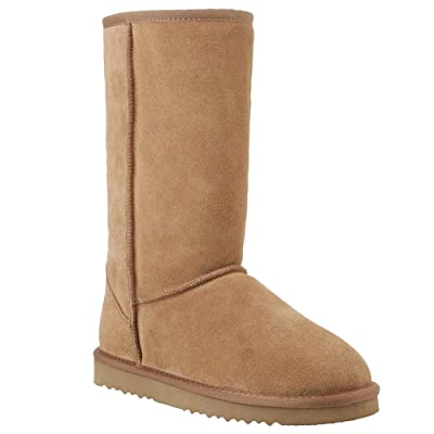 Veilante-Women-Winter-Warm-Snow Waterproof Leather Boots Shoes   Boots