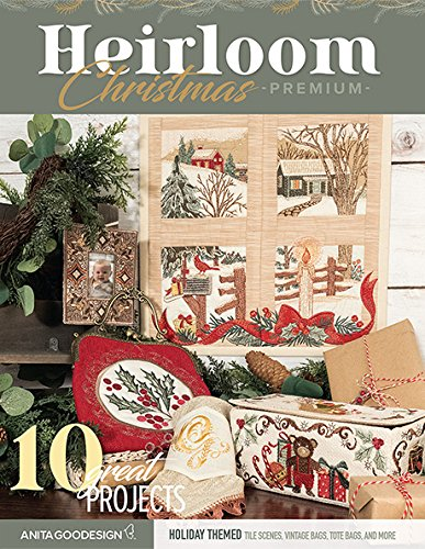 Anita Goodesign Embroidery Machine Designs CD Heirloom Christmas Premium Collection