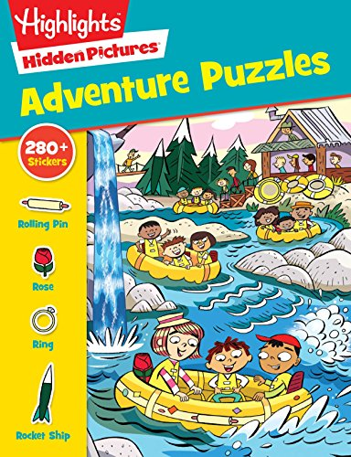 Adventure Puzzles (Highlights Sticker Hidden Pictures)