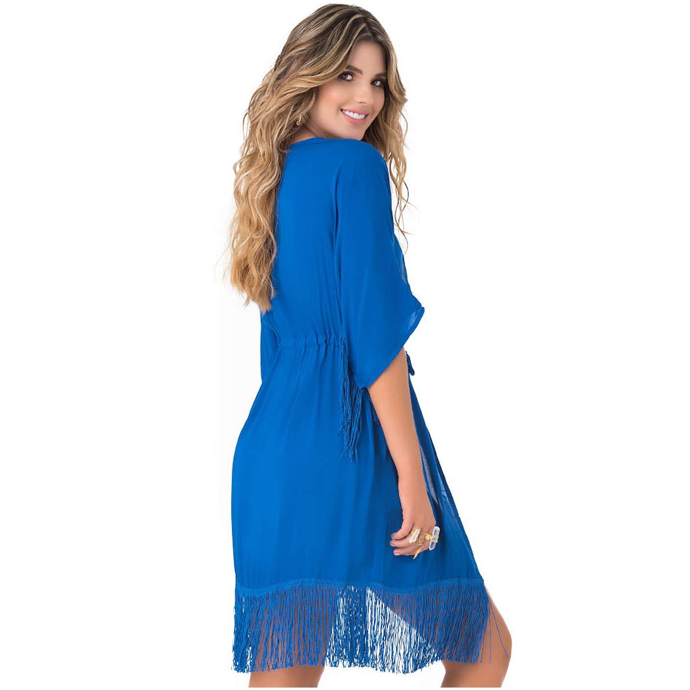 PHAX Colombian Swimwear Kimono Cardigan for Women | Salidas de Playa para Mujer at Amazon Womens Clothing store: