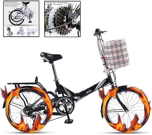 Paseo Bicicleta Plegable Bicicleta Portátil Ultraligera for ...