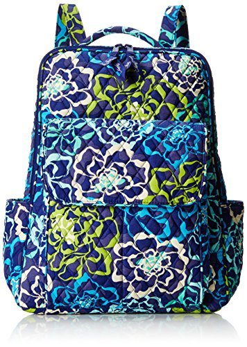 Vera Bradley Ultimate Backpack Shoulder Handbag, Katalina Blues, One Size by Vera Bradley