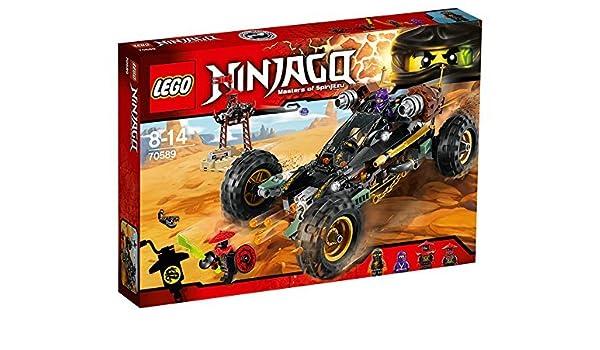 Lego Ninja Go blaster powered racer 70589 by LEGO: Amazon.es ...