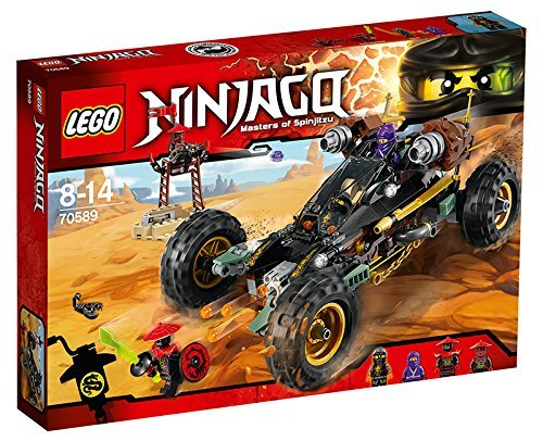 Lego Lego Lego Ninja Go blaster poweROT racer 70589 by LEGO 40d8b5