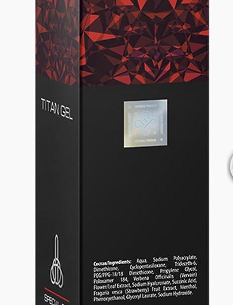 Crema Titan Gel para Mejoramiento del Pene Masculino