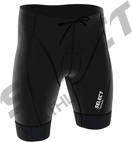 Select Triathlon Power Short Tri Short de Cyclisme Tri Run Bain pour Homme