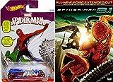 Spider-Man 2.1 Marvel DVD & Hot Wheels Exclusive Spider-man Car - WebSlinger Super hero movie Set