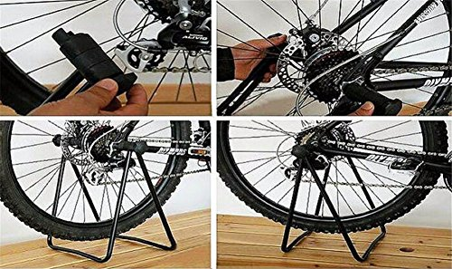 Secologo Bike Repair Stand Bicycle Bracket Repair Maintenance Floor Stand Display Rack Parking Holder Folding For Cycling Repair Stands by Secologo (Image #5)