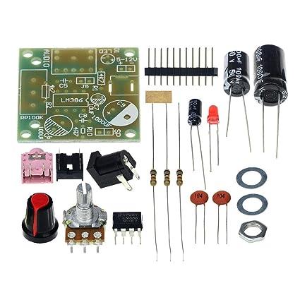 ZHUOTOP 3,5 mm 3 - 12 V Mini amplificador de alimentación de audio placa