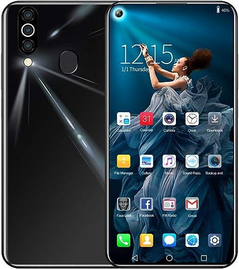 HSKB M40 Smartphone sin Contrato, 4 Core 6,6 Pulgadas, Pantalla de ...