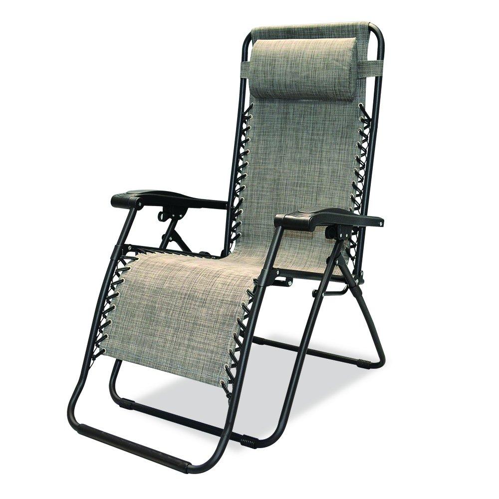 Outdoor anti gravity chair - Amazon Com Caravan Sports Infinity Zero Gravity Chair Grey Patio Lawn Garden