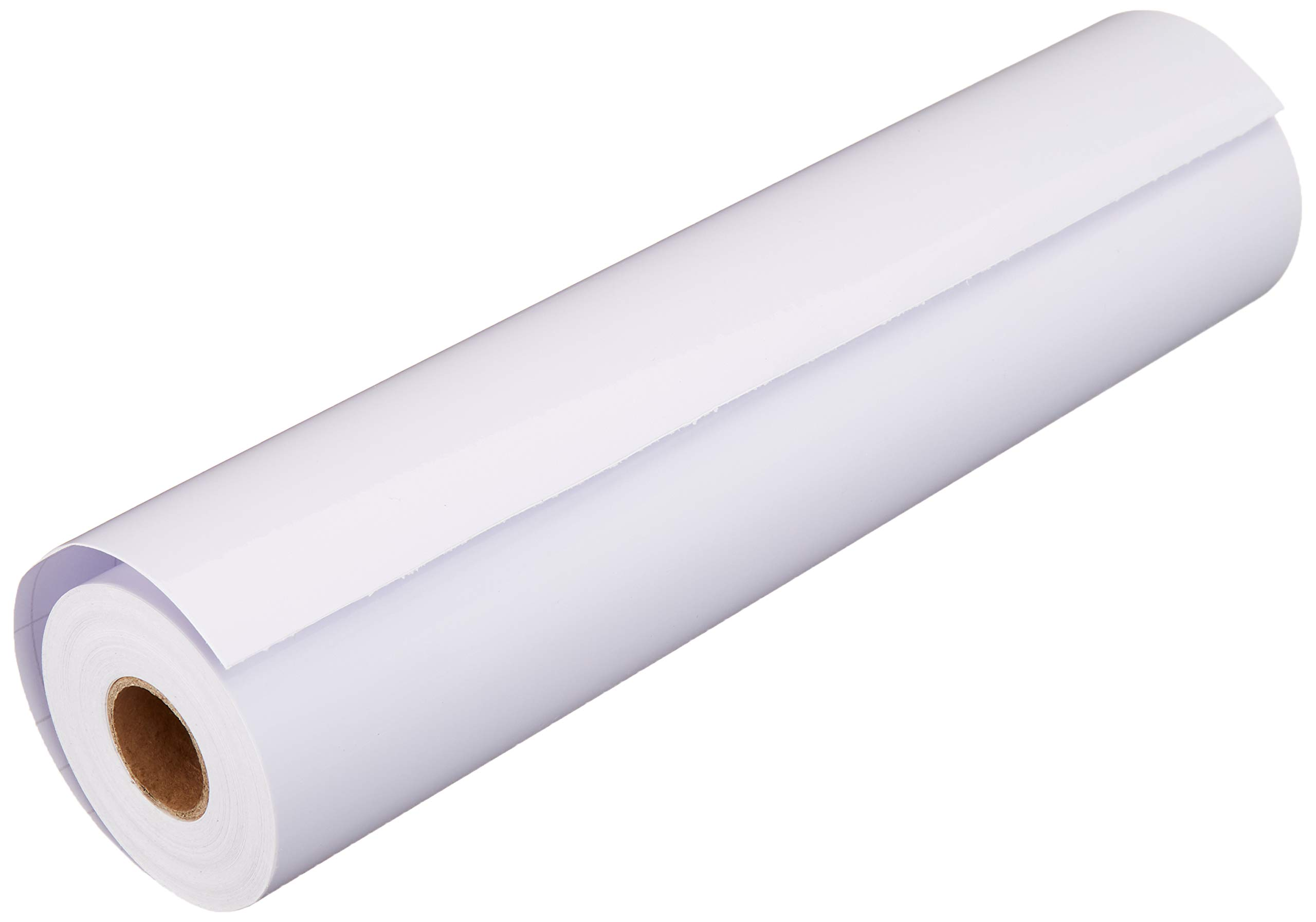 Glossy White Adhesive Vinyl Roll - Huge Glossy Adhesive Permanent White Vinyl Rolls - 12''x40FT White Vinyl Sheets Best Vynil - PrimeCutsUSA White Vinyl Wrap Works with Cricut and Other Cutters by PrimeCuts