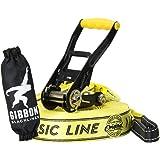Gibbon [ ギボン ] CLASSIC LINE X13 クラシックライン×13 Yellow イエロー 13840 スラックライン [並行輸入品]