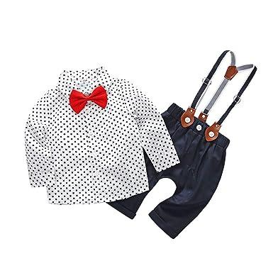 fb74b760e54da Oyedens Vêtements de bébé Ensemble Bebe Garçon Pas Cher Nouveau-né Garçon  Star Shirt Tops
