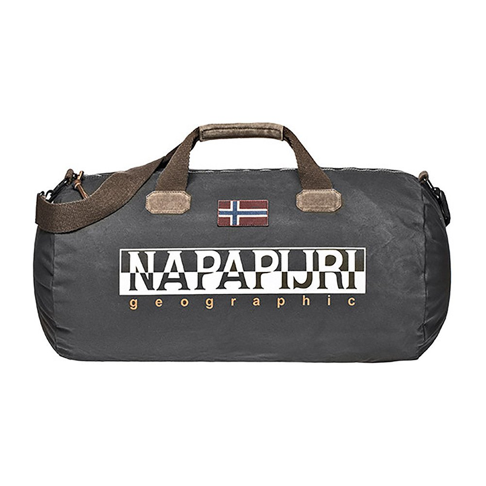 Napapijri Bering Duffle Bag One Size Dark Grey Solid