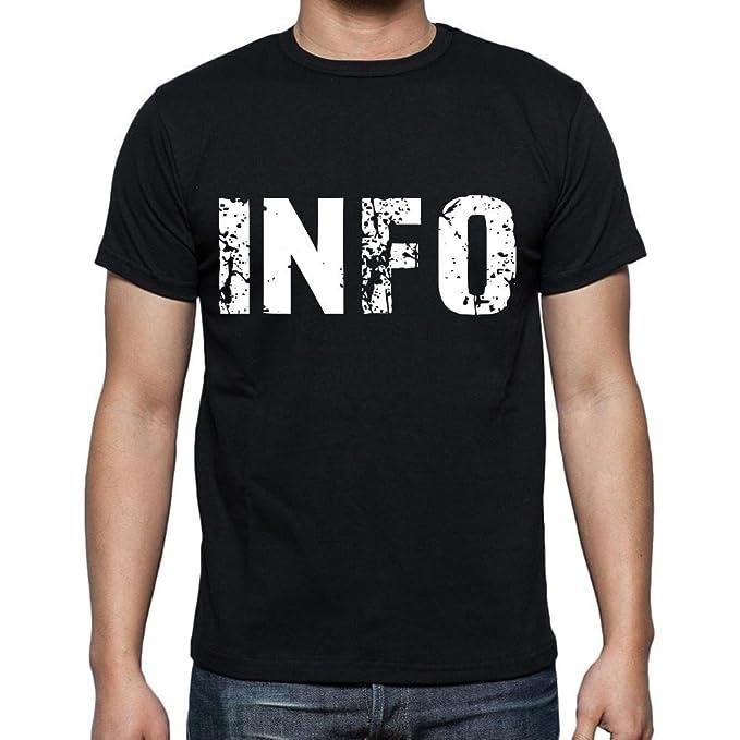 info Camiseta para hombre Cuello Redondo