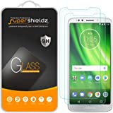 [2-Pack] Supershieldz for Motorola (Moto G6 Play) Tempered Glass Screen Protector, Anti-Scratch, Bubble Free, Lifetime Replacement Warranty