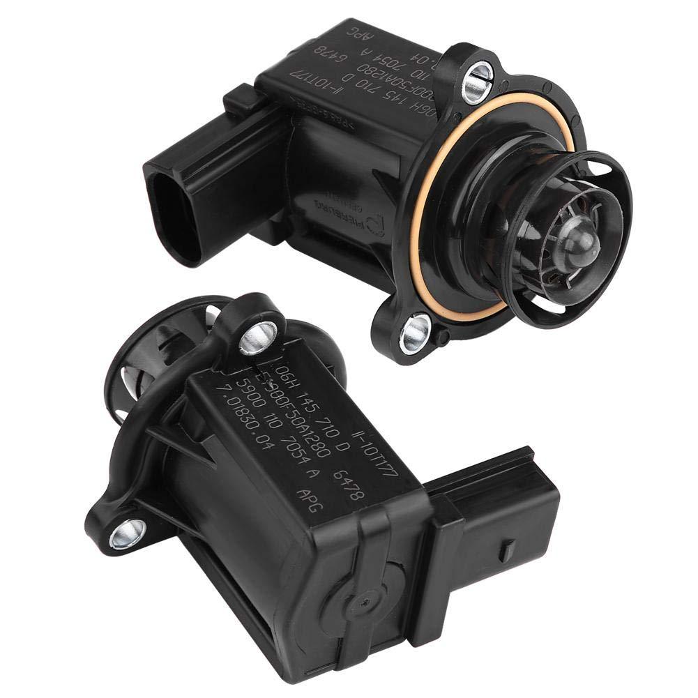 Car Bypass Diverter Valve,Turbo Turbocharger Cut-Off Bypass Diverter Valve for A3 A4 A5 A6 Q5 Passat 06H145710D