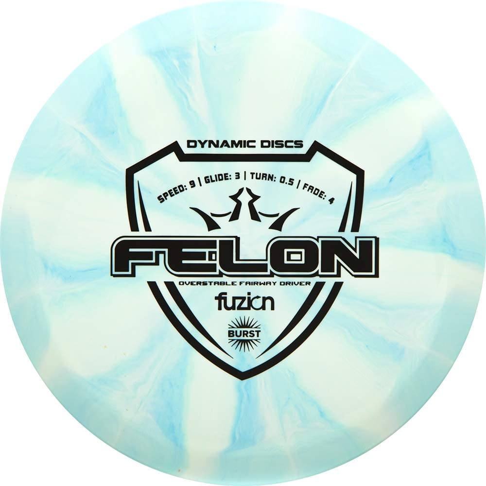 Dynamic Discs Fuzion Burst Felon Fairway Driver Golf Disc