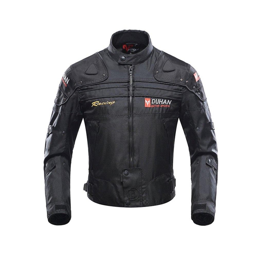 Veste de Moto, Blouson Moto Homme Sport avec Armure pour l\'automne Hiver Blouson Moto Homme Sport avec Armure pour l' automne Hiver BORLENI Jacket-Duhan-D-020-Red-XL
