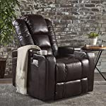 Everette Power Motion Recliner | USB Charging Port | Hidden Arm Storage | Assisted Reclining Furniture