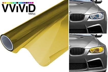 VViViD Air-Tint Golden Yellow Headlight/Tail Light Window Tint (12