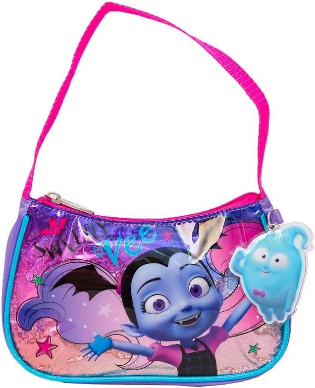 Disney Girls' Vampirina Handbag with Dangle, Purple, One Size