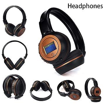 Cebbay Liquidación ¡Venta Caliente! 3.0 Auriculares inalámbricos Bluetooth estéreo con micrófono para Hablar (Naranja): Amazon.es: Electrónica