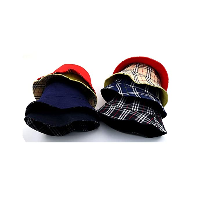 7bba6b8b7ba 2019 The Cotton Both Sides Can Wear Face Bucket Hat Fisherman Hat Outdoor  Travel hat Sun