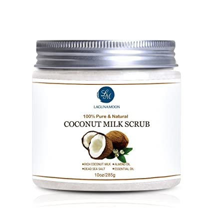 Leche de Coco Scrub Exfoliante Corporal y Facial Scrub para ...
