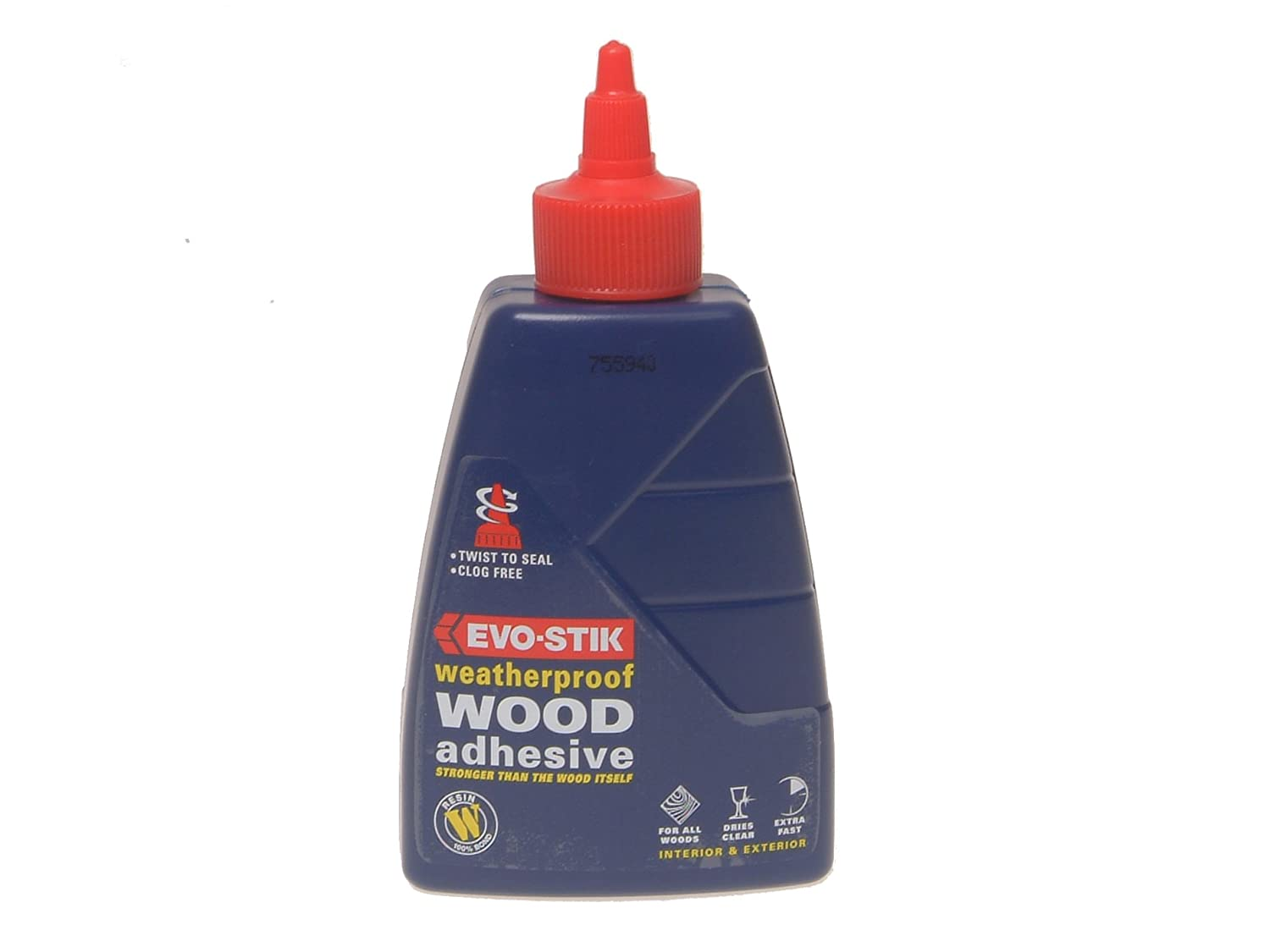 Evo Stik Wood Adhesive Weatherproof - 2.5litre 718210 EVOWP212L B0001P03XI Adhesives Adhesives and Fillers Fixings and Hardware Items Weatherproof Adhesive Wood Adhesives