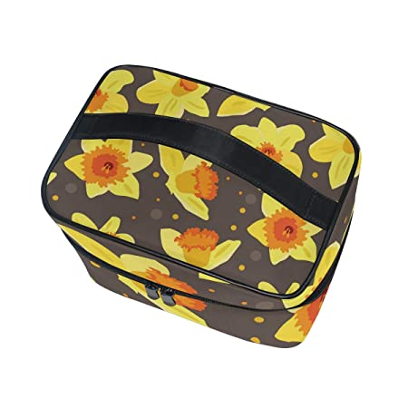 90d6a0fe087e Amazon.com : Night Sky Fools' Day Large Travel Cosmetic Bags For ...