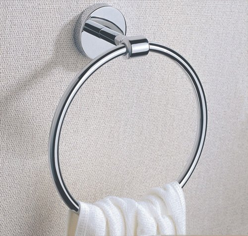 Cloud Power Brass Towel Rings Towel Rings Holder Wall-mounted Towel Rings For Bathroom With Chrome
