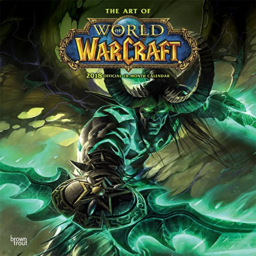 World of Warcraft 2018 12 x 12 Inch Monthly Square Wall Calendar