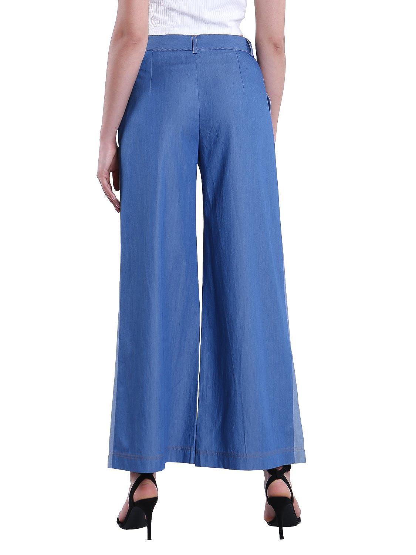 Amazon.com: Las mujeres del dril de algodón Jeans de pierna ...